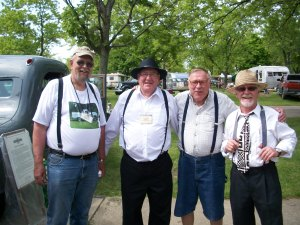 The suspender gang.