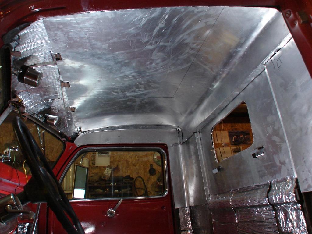 Vintage trucks cool mccool 39 s garage page 3 for Space headliner