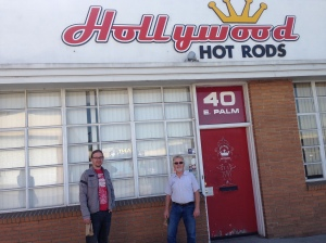 Unfortunately, Hollywood Hot Rods was closed on Saturday.  So...