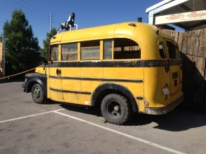 Back in Las Vegas, I took the short bus to Rick's Restoration's.