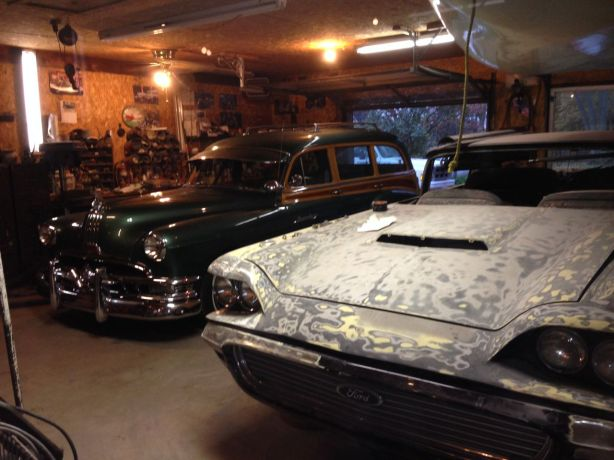 Garage full of coolness.