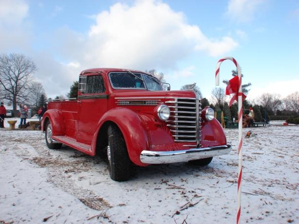Bad Santa's sleigh.