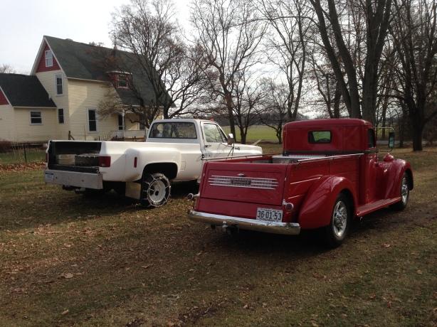 Our vintage truck fleet.