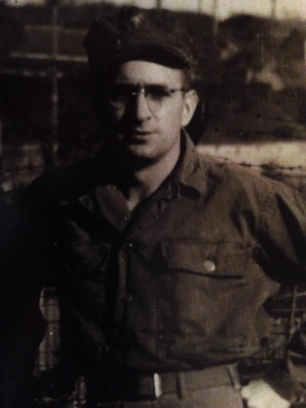 Rex McCool, circa 1946 in Yokohama, Japan.