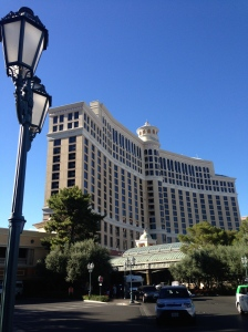 Bellagio in LV, where we got a private VIP tour to the cupola!