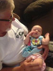 Our beautiful great niece, Maren.