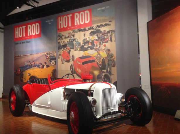Buck Boudemans '27 roadster.