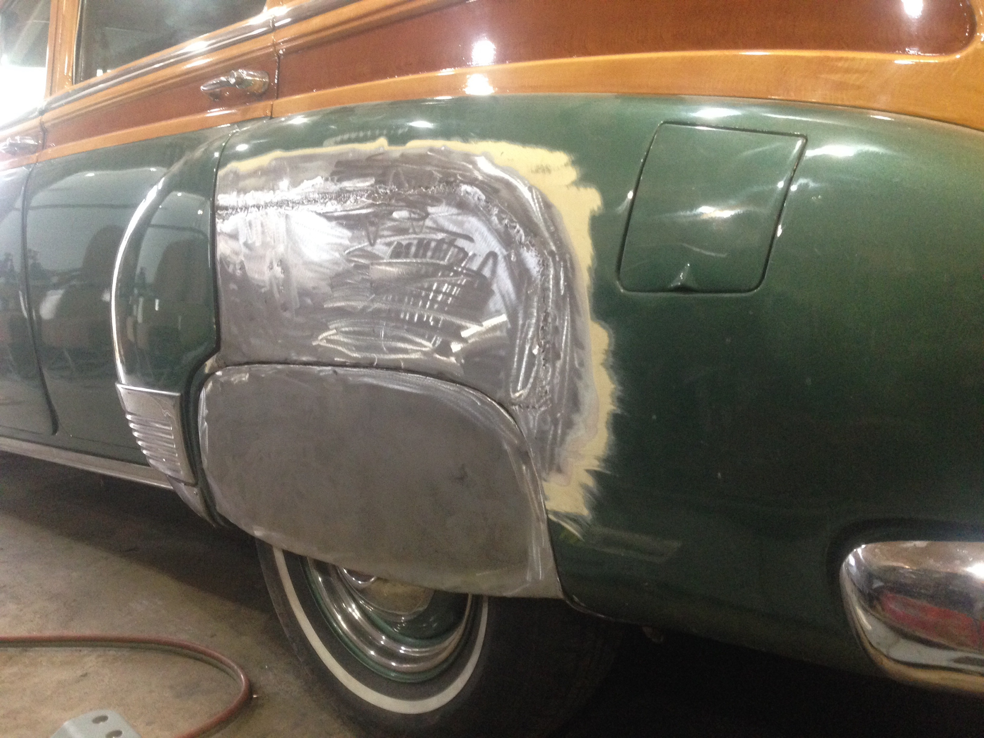 Cool Mccools Garage Whats Brian Cutting Up Today Page 2 Help Old Style Chrome Clamp On Turn Signal The Hamb And Doors Were Rusty Too